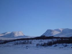 Abisko, Northern Sweden, March 2012